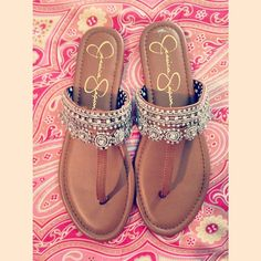 Jessica Simpson sandals. These are so cute!!♥♥