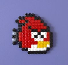 Angry birds game hama bead accessory decoration by kendaljames, £2.50