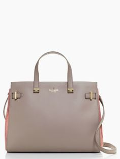 Kate Spade Parker Street Aisley in Warm Putty/Alba  http://www.katespade.com/parker-street-aisley/PXRU5267,en_US,pd.html?dwvar_PXRU5267_color=189