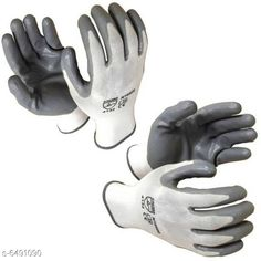 Cleaning Gloves (Pack of 2)White Polyester Safety Reusable Industrial Quality Gloves With Nitrile Grey Coating  Product Name: Hand Gloves Product Type: Hand Gloves Material: Polyester Size: L (Regular) Multipack: Pack Of 2 Sizes Available: Free Size *Proof of Safe Delivery! Click to know on Safety Standards of Delivery Partners- https://ltl.sh/y_nZrAV3  Catalog Rating: ★3.9 (155)  Catalog Name: Cleaning Gloves CatalogID_1033359 C89-SC1750 Code: 802-6491090-