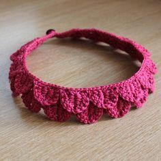 Acessórios em tricô e crochê   Ideias de Bijuterias em tricô e crochê, braceletes, pulseiras, colar...                 imagem pinterest...