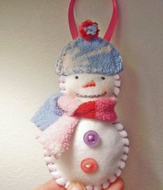 K, anyone who knows me knows that I have been making felt ornaments like they are going out of style.  Last year I made all of them for my t...