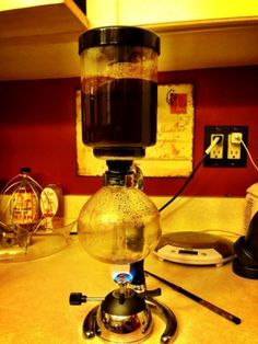 Breaking bad of coffee makers. This thing is like mad science.
