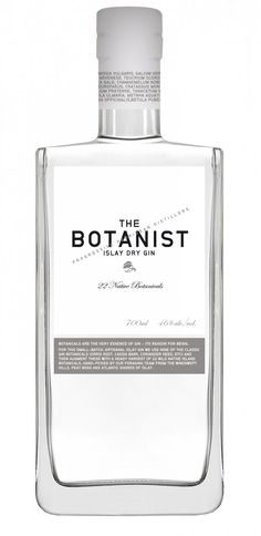 You can always rely on the distillers of Islay to know what they're doing, and this excellent gin proves that their skills are transferrable. Beverage Packaging, Bottle Packaging, Whisky, Botanist Gin, The Distillers, Gin Brands, Alcohol, Affinity Designer, Dry Gin