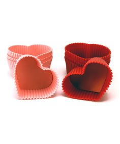 Heart Cupcake Mold Set