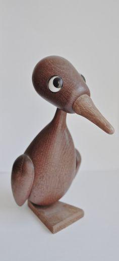 reserved Vintage Denmark Teak Duck Mod Mid Century by Scandimania