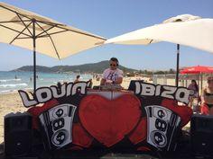 Música en vivo en Playa D'en Bossa, Ibiza.