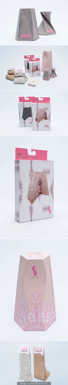 Pretty student packaging concept of ballet and dancer products curated by Packaging Diva PD created via http://www.packagingoftheworld.com/2014/09/silver-lake-ballet-company-student.html