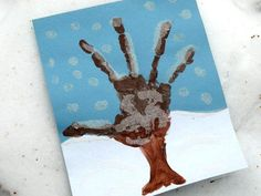 Snowy Handprint Tree Craft: Winter Crafts for Kids! Kids Crafts, Winter Crafts For Kids, Family Crafts, Winter Kids, Tree Crafts, Preschool Crafts, Art For Kids, Preschool Winter, Winter Activities For Toddlers