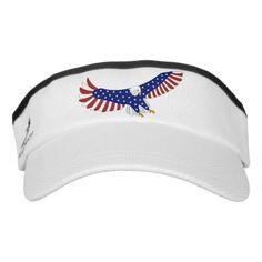 USA Eagle Soaring Stars Stripes Visor #Ad , #AFFILIATE, #Stars#Stripes#Visor#Soaring Military Wife Quotes, Veterans Pictures, Usa Shirt, Eagle Logo, Triathlon, Women Empowerment, Knitted Fabric, Classic Style, Stripes