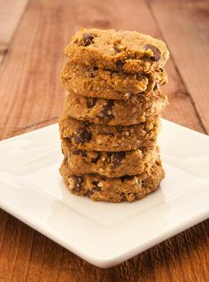 Prep time: 5 minutes Cook time: 10-12 minutes Serves: 20-24 cookies Ingredients: 1 cup whole wheat flour (or gluten-free) 3/4 cup Quinoa flakes (or old-fashioned gluten-free uncooked oatmeal, if yo...