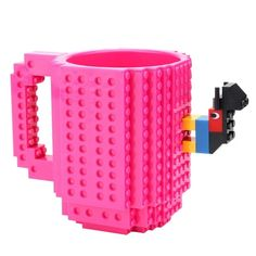 Lego 2 white coffee cups mugs glasses dinner ware  Minifigure friends city town