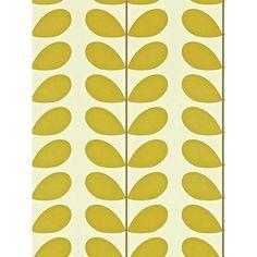 BuyOrla Kiely House for Harlequin Classic Stem Wallpaper, Green, 110388 Online at johnlewis.com