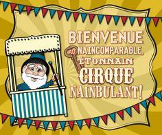 L'Étonnain Cirque Nainbulant (à partir du 1er mai 2016)
