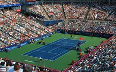 Simona Halep a castigat turneul Rogers Cup de la Montreal Atp Tennis, Tennis News, Simona Halep, Tennis World, Tennis Tournaments, Montreal, Basketball Court, Canada, Tennis