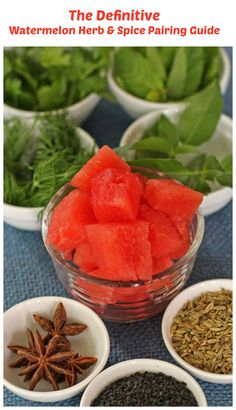 Over 50 Watermelon Recipes - using watermelon paired with virtually ...