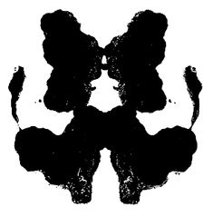 Based on Gestalt theory, I feel as though Rorschach's infamous blot test coincides with the theory. A projectile test based around the idea of where the ink blots connect in an individuals mind. Rorschach Inkblot, Bushy Eyebrows, What Do You See, Visual Diary, Office Art, Art Therapy, Fascinator, Screen Printing, Rorschach Test