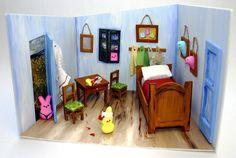 Vincent Van Peep's Bedroom in Arles is another artistic recreation by TI-Gen3-chinews