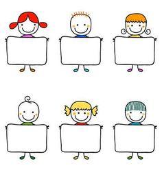 Illustrazione del vettoriali, clipart e vettori stock Bambini felici con le bandiere Image 39585661.