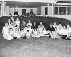 ST-M25-1-61. Composite Photograph of the Kennedy Family - John F. Kennedy Presidential Library & Museum