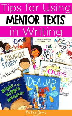 Easily learn how to use mentor texts for writer's worksop in kindergarten, first grade, and second grade. Plus, the quick tips will help make using mentor texts for writing much easier! #WritersWorkhop #TeacherTips #FirstGrade