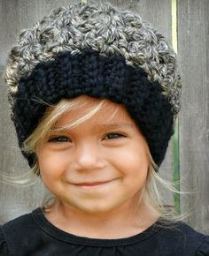 Chunky Crochet Hat girls hat hat for kids kids by JuneBugBeanies, $26.00