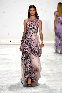 Behold, the Most Gorgeous Gowns of New York Fashion Week: We love when a model walks down the runway in something we could see ourselves walking down the street in, but those aren't the looks that make our jaws drop.