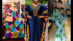 60+ MOST DAZZLING #AFRICAN FASHION || 60+ MOST IMPECCABLY FLAWLESS AND S... Long Ankara Dresses, Ankara Skirt And Blouse, Ankara Gowns, African Print Dresses, African Fashion, Kids Fashion, Womens Fashion, Latest Ankara Styles, Gorgeous Women