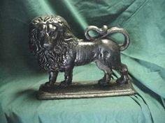 Wrought Iron Lion Door 1930's