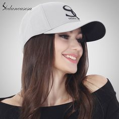 est Unisex Brand Embroidery SC 100% Cotton Baseball Cap Grey Blue Pink Black Wine Red Female Snapback Hats Wholesale Men Caps Just look, that`s outstanding! #shop #beauty #Woman's fashion #Products #Hat