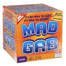 MAD GAB® makes you listen and laugh.