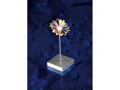 Lunartec Blumen-Motiv-Leuchte