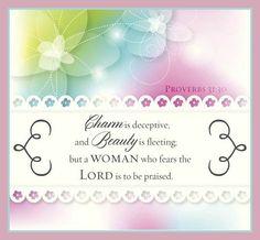 Proverbs 31:30