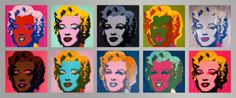 10 Marilyns, 1967 Prints by Andy Warhol at AllPosters.com