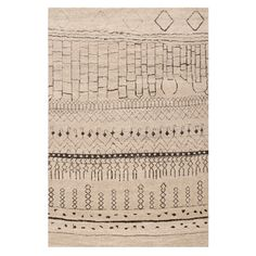 Loomed rug with a Berber-inspired tribal motif. Made in Turkey.   Product: RugConstruction Material: 100% Polyp...