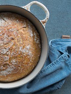 Eltefritt brød med sammalt kveite - Kvardagsmat Baking, Tips, Bread Making, Patisserie, Backen, Bread, Sweets, Reposteria, Roast