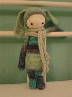 RITA the rabbit made by Mephistamagna / crochet pattern by lalylala