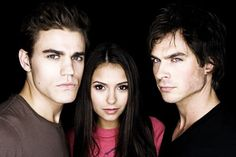 Entertainment Weekly - The vampire diaries (Série TV)