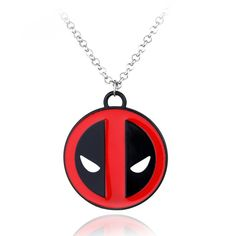 Get this Deadpool Pendant Necklace and let the world know you're a Deadpool fan! Make a gift for yourself or your friend, everyone will be happy to have it. Length : 50cm INTERNET EXCLUSIVE - NOT SOLD