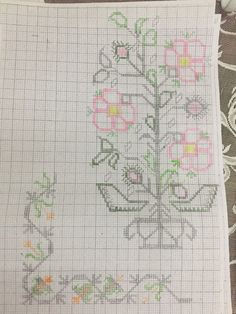 Tapestry Crochet, Cross Stitch Designs, Diy And Crafts, Projects To Try, Bullet Journal, Embroidery, Sewing, Pattern, Cross Stitch