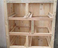 Création d'un meuble en bois, étapes