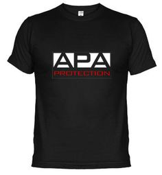 Camiseta The APA Protection Wrestling www.latostadora.com/wrestling/the_apa_wrestling__negra/200031?a_aid=2011t019=pint