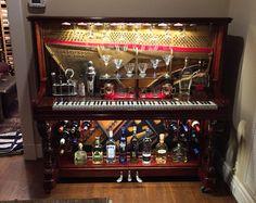 Piano Bar - Re-purposed Upright Piano