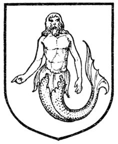 Fig. 433.—Merman. Date 	1909 Source 	A Complete Guide to Heraldry. Author 	 [show]Arthur Charles Fox-Davies oktouse