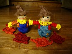 Ravelry: Little Scarecrow pattern by Molly Dumbris