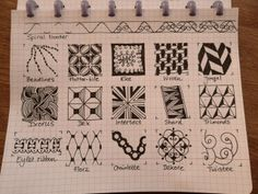 Drawing Practice The Inner World: Tangle PATTERNS