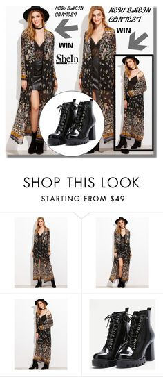 """""""NEW SHEIN CONTEST"""" by edita-n ❤ liked on Polyvore"""
