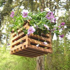 Hanging Crate Planter