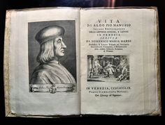A Tribute to the Printer Aldus Manutius, and the Roots of the Paperback - NYTimes.com