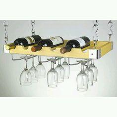 Excelente idea para tus vinos y copas